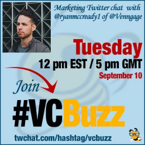 Visual Marketing & Content Repurposing with @ryanmccready1 of @Venngage #vcbuzz