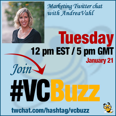 Facebook Marketing for Small Businesses with @AndreaVahl #vcbuzz