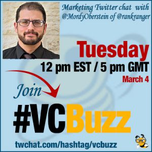 How to Monitor Your Rankings with @MordyOberstein of @rankranger #vcbuzz