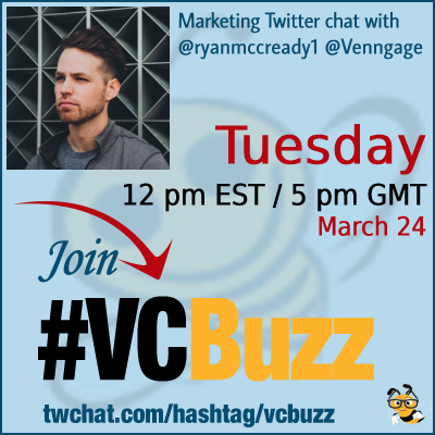 Boost Your Linkedin Engagement with Visual Content with @ryanmccready1 of @Venngage #vcbuzz