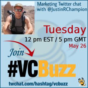 Digital Marketing, the Inbound Way with Justin Champion @JustinRChampion #vcbuzz