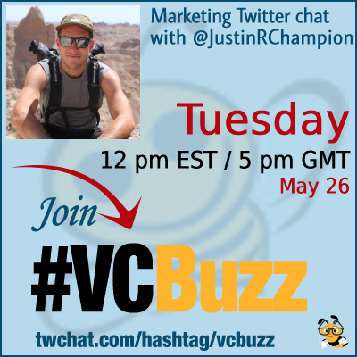 Digital Marketing, the Inbound Way with Justin Champion @JustinRChampion #vcbuzz