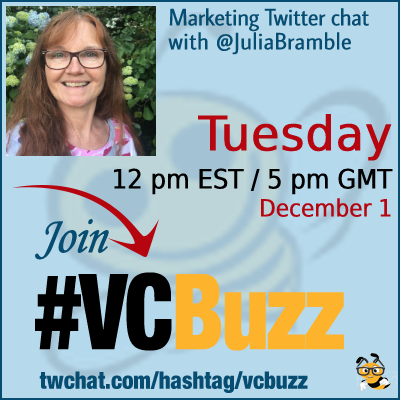 How to Market Your Social Media Event Julia Bramble Ph.D. @JuliaBramble #vcbuzz