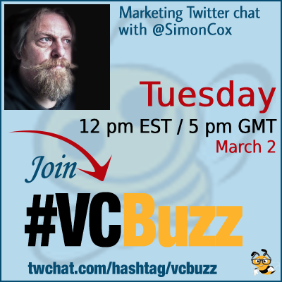 Technical SEO Twitter Chat with @SimonCox #vcbuzz