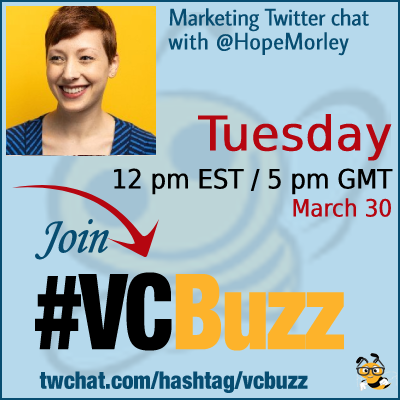 Video Marketing for B2B Businesses with @HopeMorley #vcbuzz