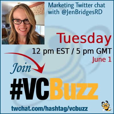 How to Find Topics to Write on with Jennifer Bridges @JenBridgesRD #vcbuzz