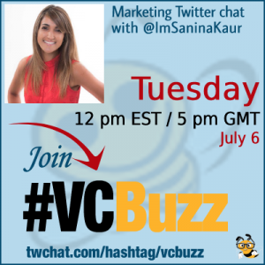 How to Write Content that Appeals to Your Target Audience with Sanina Kaur @ImSaninaKaur #VCBuzz