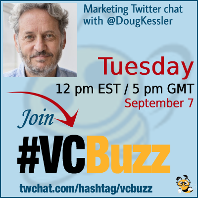 Content Marketing Strategy for B2B with Doug Kessler @dougkessler #vcbuzz