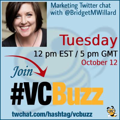 Fiction in Content Marketing with @BridgetMWillard #vcbuzz