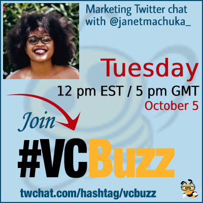 How to Get a Job in Social Media with Janet Machuka @janetmachuka_ #vcbuzz